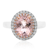 Bague en or et Morganite (CIRARI)