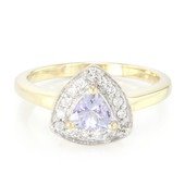 Bague en or et Tanzanite Fancy