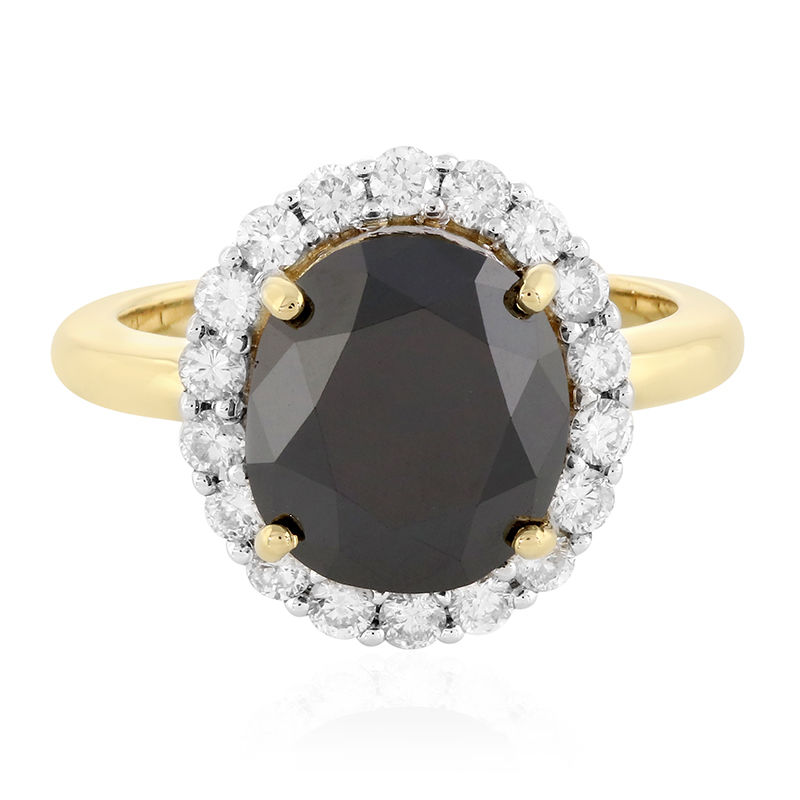 prix bague diamant noir
