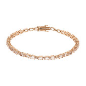 Bracelet en or et Morganite AAA (CIRARI)