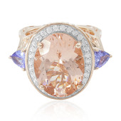 Bague en or et Morganite (Dallas Prince Designs)