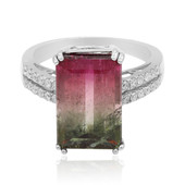 Bague en or et Tourmaline multicolore