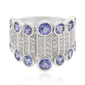 Bague en argent et Tanzanite (Memories by Vincent)