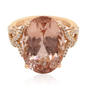 Bague en or et Morganite