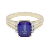 Bague en or et Kyanite