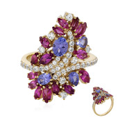 Bague en or et Tanzanite (Adela Gold)