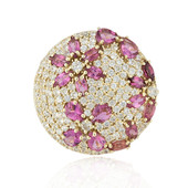 Bague en or et Tourmaline rose (Adela Gold)
