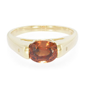 Bague en or et Zircon orange de Mashawa