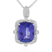 Collier en or et Tanzanite AAA