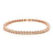 Bracelet en or et Diamant Rose de France SI (Annette)