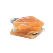 Dessous de verre en calcite orange