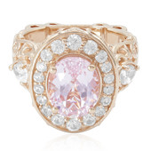Bague en or et Kunzite (Dallas Prince Designs)