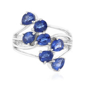 Bague en argent et Kyanite (Memories by Vincent)