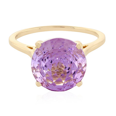 Bague en or et Améthyste Rose de France (PHANTASIA)