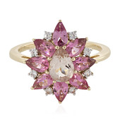Bague en or et Morganite (La Revelle)