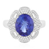 Bague en or et Tanzanite AAA