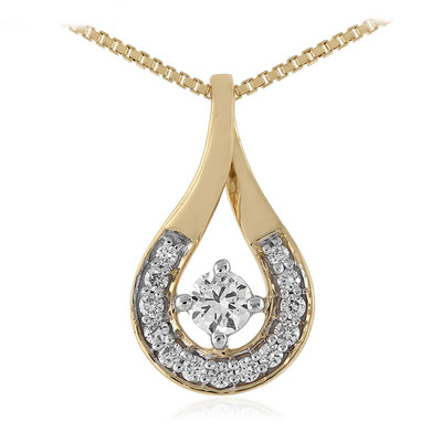 Collier en or et Diamant SI (adamantes [!])