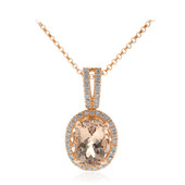Collier en or et Morganite AAA (CIRARI)