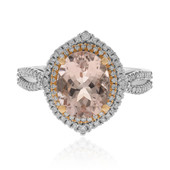Bague en or et Morganite AAA (CIRARI)