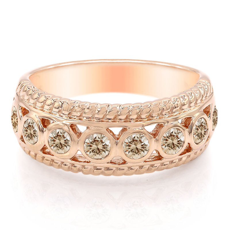 bague diamant rose de france