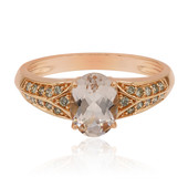 Bague en or et Morganite (Annette)