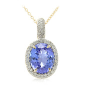 Collier en or et Tanzanite (Lance Fischer)