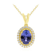 Collier en or et Tanzanite AAA (CIRARI)