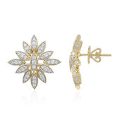 Boucles d'oreilles en or et Diamant F (LUCENT DIAMONDS)
