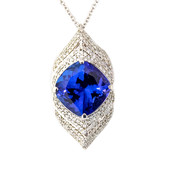 Collier en or et Tanzanite AAA (de Melo)