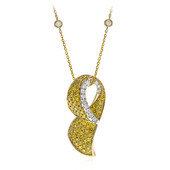 Collier en or et Diamant SI2 jaune (CIRARI)