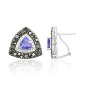Boucles d'oreilles en or et Tanzanite (Dallas Prince Designs)