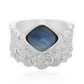 Bague en argent et Kyanite (MONOSONO COLLECTION)