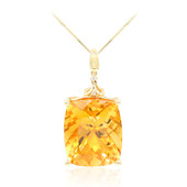 Collier en or et Citrine