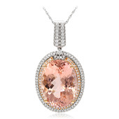 Collier en or et Morganite