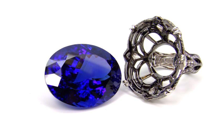 bijoux en tanzanite