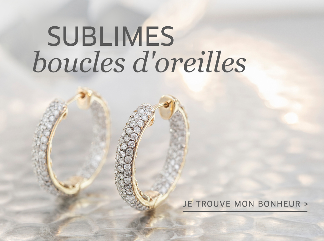 Boucles d'oreilles exclusives