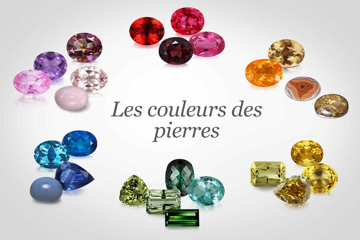 Les couleurs des pierres précieuses