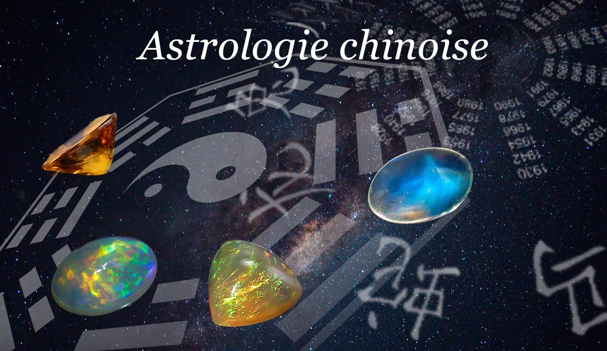 Astrologie chinoise des pierres