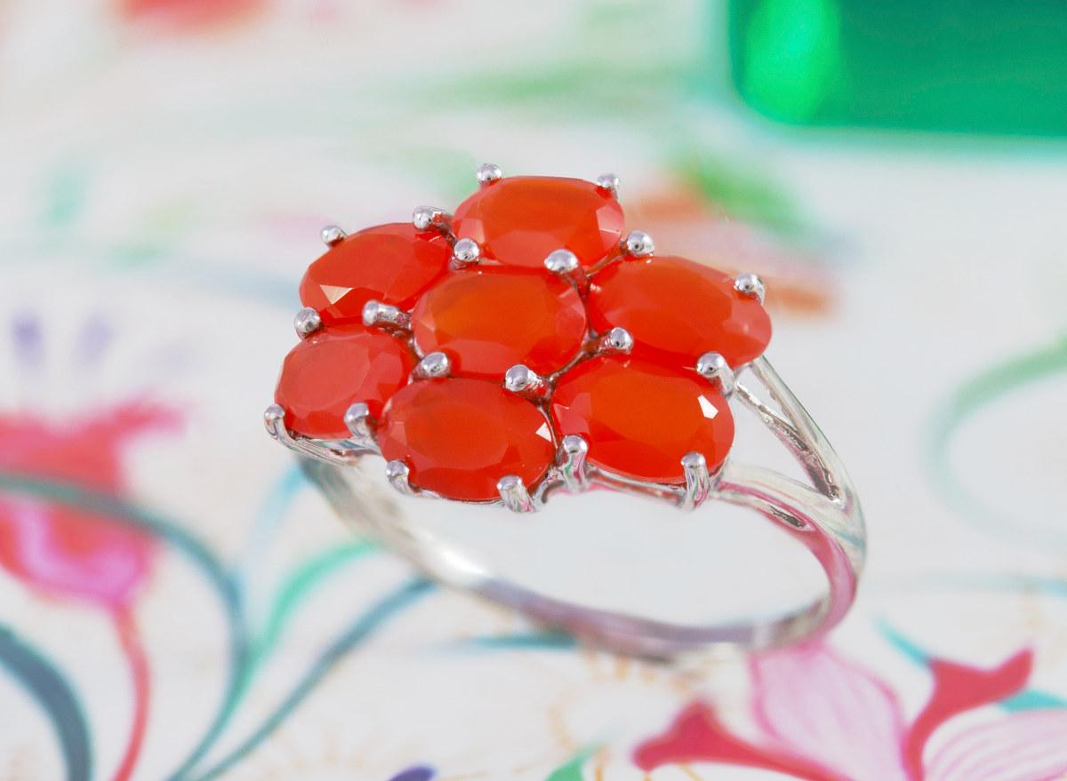 bijoux cornaline