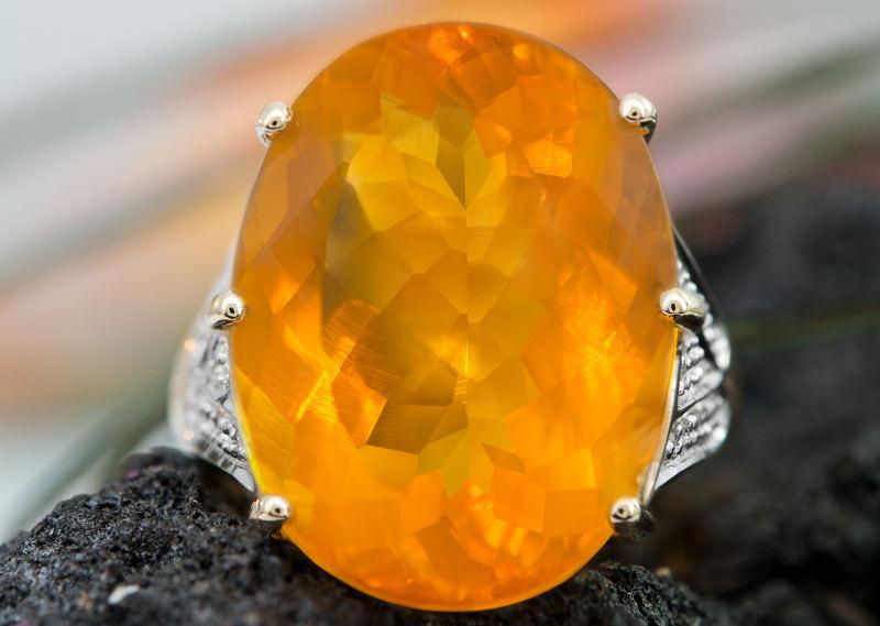 Bijoux en Opale de feu