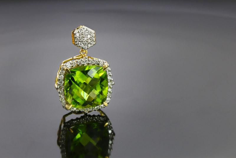 bijoux en péridot