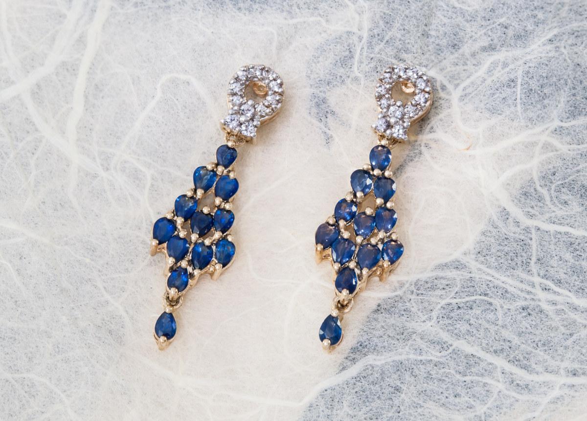 bijoux en saphir
