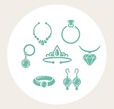 informations sur les bijoux