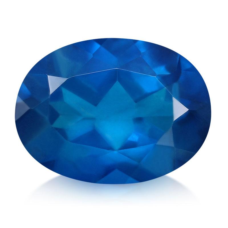 L'Apatite Bleu roi