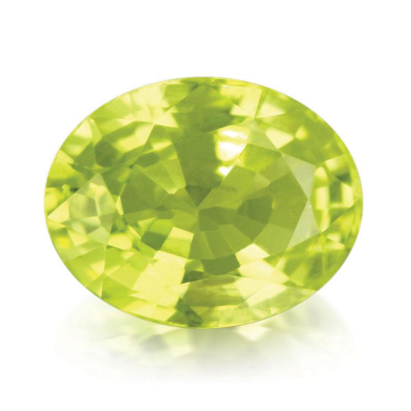 Famille des Béryls - Héliodore, superbe Béryl jaune orangé - Juwelo, bijouterie en ligne