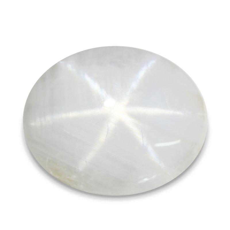 Le Saphir blanc étoilé