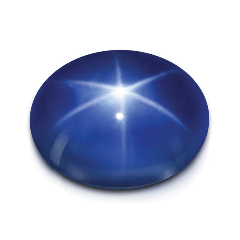Le Saphir bleu étoile