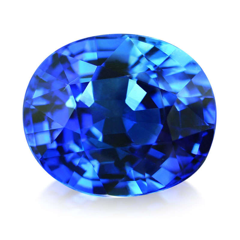 Le Saphir bleu de Ceylan AAA