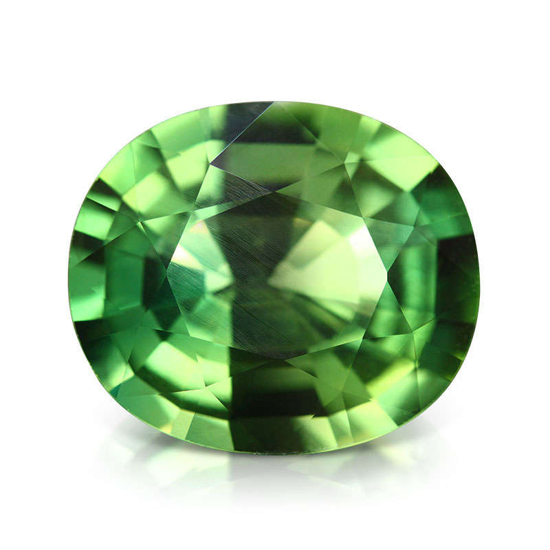 Le Saphir vert de Chanthaburi