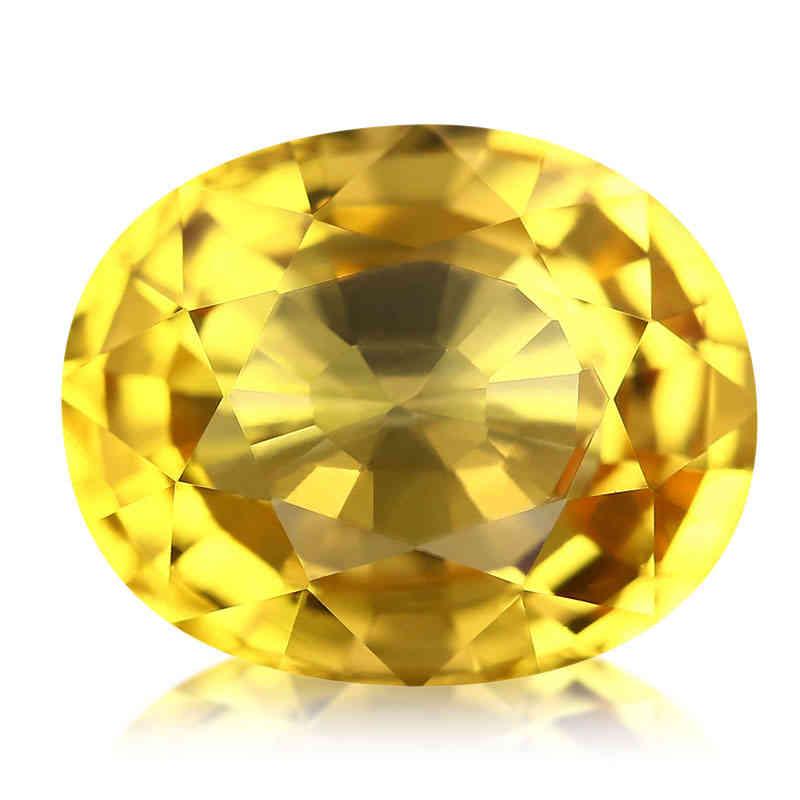 Le Saphir de couleur jaune
